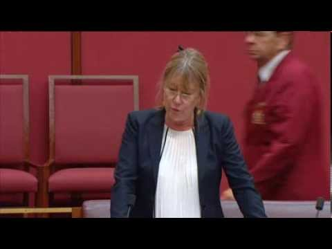 Senator Lin Thorp speaking about the Coalition's dismantling of the CEFC