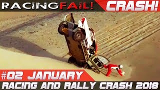 Dakar 2018 Special Week 2 Rally Crash Compilation | RACINGFAIL
