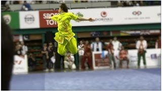 12th World Wushu Championships Men Changquan CHN Xi Wang 王曦 9.72