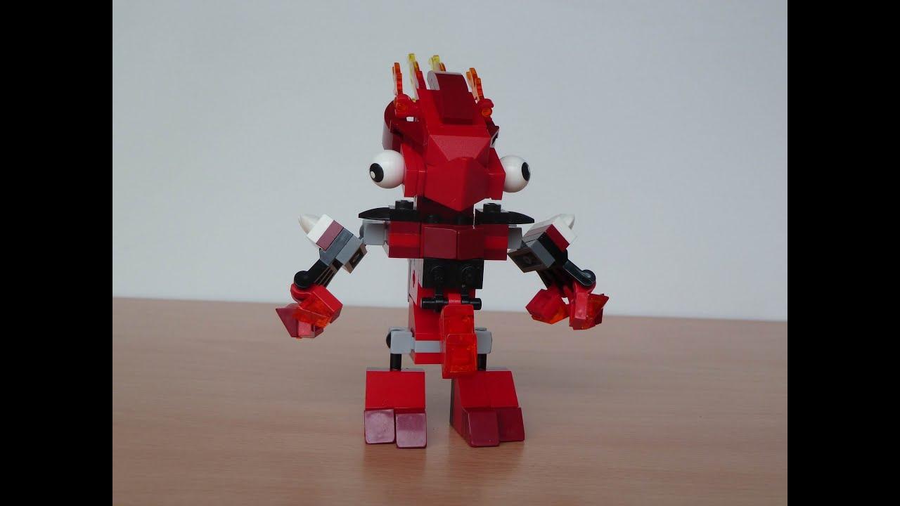 Mixels Flain Lego Mixels Flain Vulk Mix