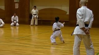 JKF 平安初段 Heianshodan Seminar by Noboru Kato 2017-05-20@Nagaoka 全空連基本形三