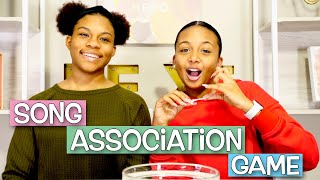 Song Association Game **this was hard**   LexiVee03