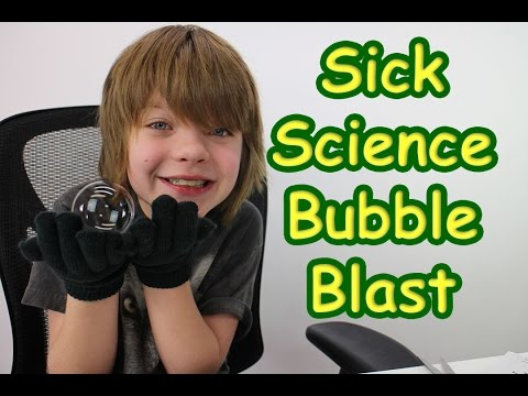 Steve Spangler Sick Science - Bubble Blast - Day 571 | ActOutGames
