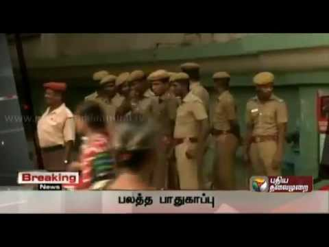 Breaking News: bomb blast in chennai central railway station
