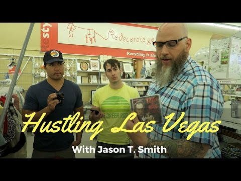 ( VLOG ) Thrifting Las Vegas With Jason T. Smith + Behind The Scenes House Tour!