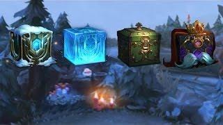 Hextech Opening 5 Frozen Fiends Snowdown Chests League of Legends
