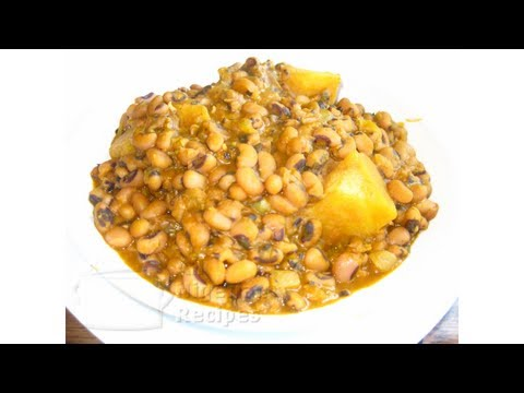 How to Cook Nigerian Beans Porridge (with Yam)
