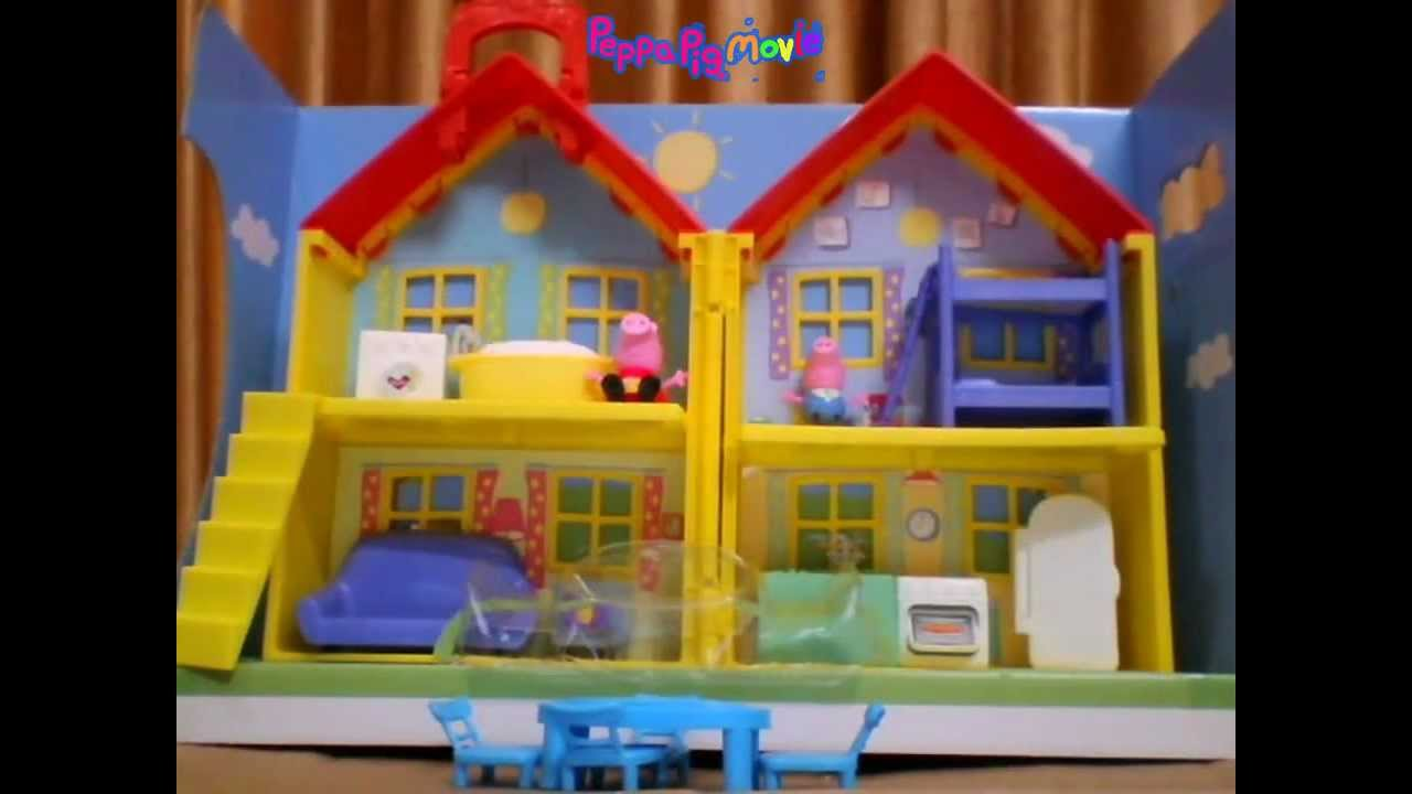 Peppa Pig Peek And Surprise Playhouse Unboxing Youtube