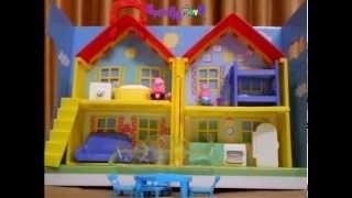 Peppa Pig Peek and Surprise Playhouse  Unboxing