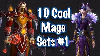 Jessiehealz - 10 Cool Mage Transmog Sets #1 (World of Warcraft) 4.47 MB