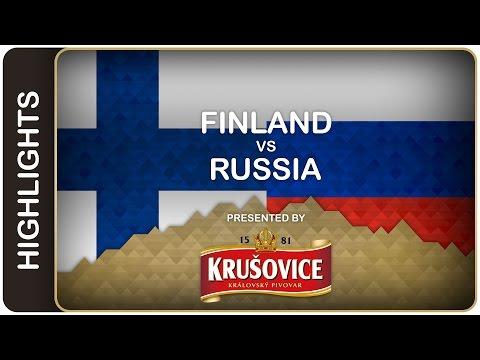 Finns dash Russia's dreams   Finland-Russia HL   #IIHFWorlds 2016