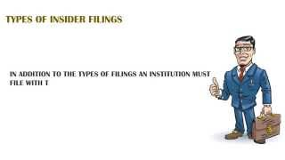 Types of SEC Insider Filings