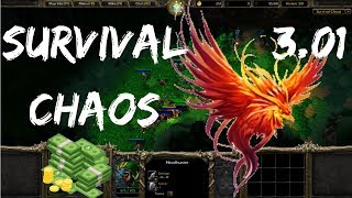 Survival Chaos - No Gold Penalty Mid | Warcraft 3 | WarBoss