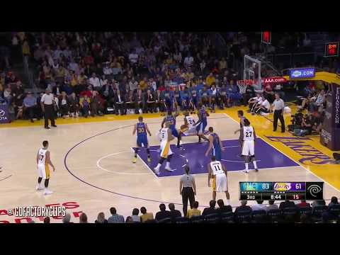 Kobe Bryant Full Highlights vs Warriors (2014.11.16) - 44 Pts, 1st Half Cheese!