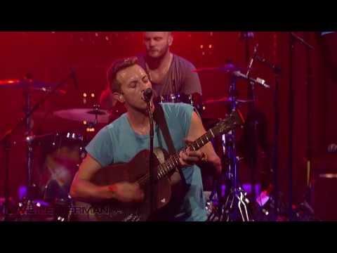 Coldplay - Major Minus (Live @ Letterman)