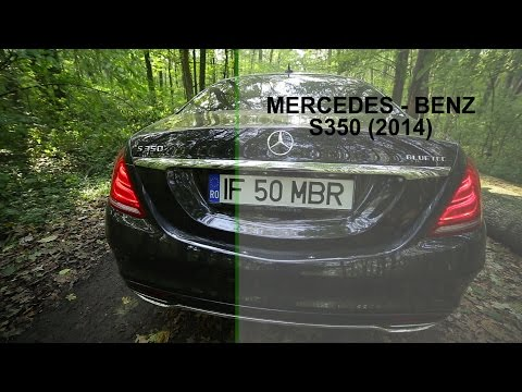 Mercedes Benz S350 2014 Drive Test & Review (www.buhnici.ro)