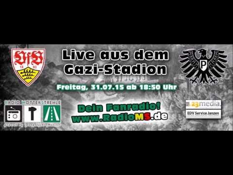 Interviews vom 2. Spieltag 2015/2016: VFB Stuttgart II -  Preußen Münster