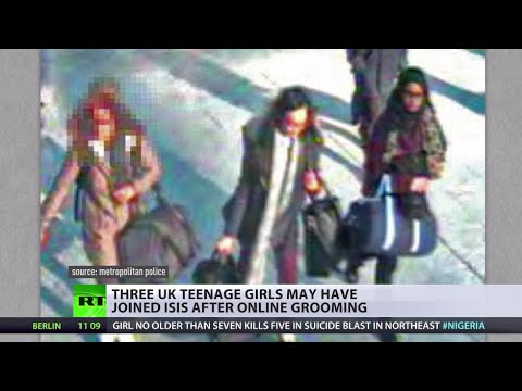 3 Uk Teen Girls May Have Joined Isis After Online Grooming video