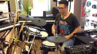 Masky Q feat Sai Gon Dep Lam - Nah, Wowy ( drum cover)