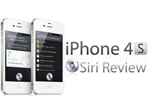 iPhone 4S: Siri And Dictation Review