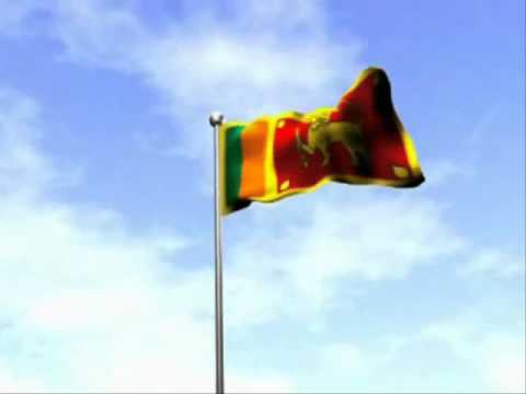 National Anthem Of Sri Lanka .wmv video