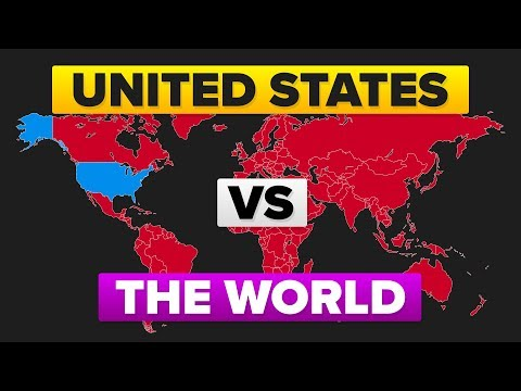 The United States USA vs The World - Who Would Win? Military  Army Comparison