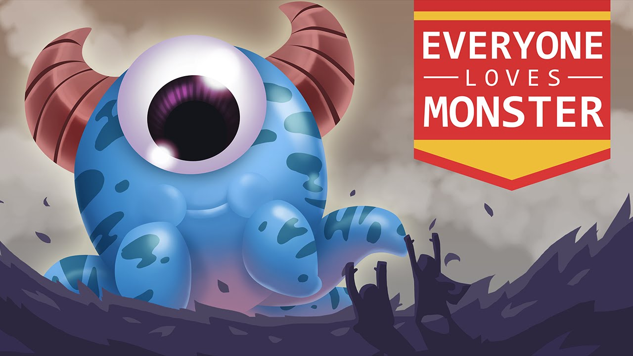 Everyone Loves Monster APK Mod (Unlimited Power) v1.2 - Cover