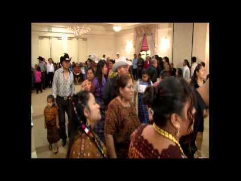Marimba Flor del Paraiso en Los Angeles por Mayas Unidos 11 16 2013