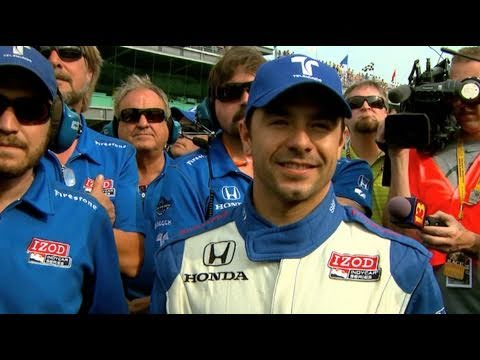 Servia Qualifies 3rd at Indy