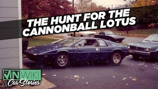 The hunt for the missing Cannonball Lotus