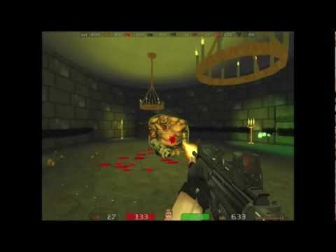 Lets play Doom2  - Psychophobia 3D mod - E1M5