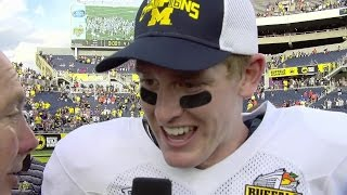 Jake Rudock Citrus Bowl Postgame Interview