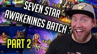 7 Star Batch 3 Review Part 2! Zargabaath So Good! - [FFBE] Final Fantasy Brave Exvius