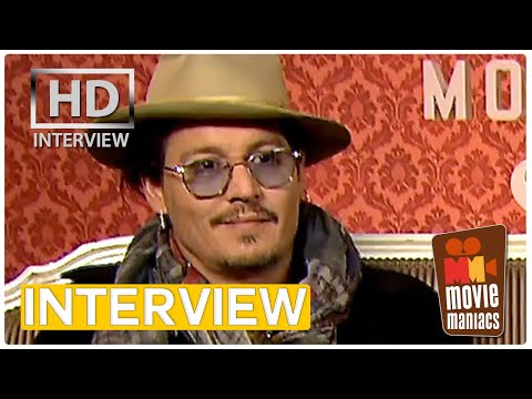 Johnny Depp & Paul Bettany | Mortdecai exclusive Interview (2015)