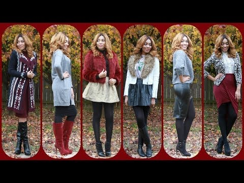 {Style File} My Holiday Fashion Lookbook #1