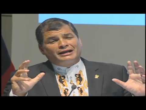 Conferencia magistral del Presidente Rafael Correa en la Universidad Técnica de Berlín 17/04/2013