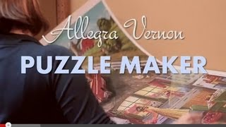 "The Jigsaw ""Puzzle Maker"" Secrets of How To Make Quality Puzzles by Cobble Hill Puzzle Company"