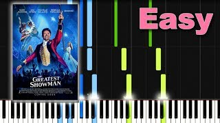 This Is Me - Kesha (The Greatest Showman) SHEETS Piano Tutorial [Synthesia]
