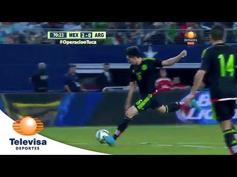Gol de Héctor Herrera 2-0 | México vs Argentina | Televisa Deportes