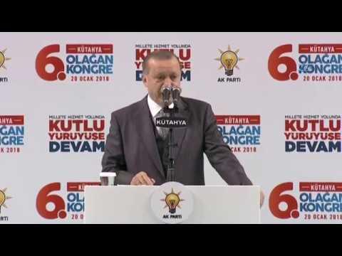 """Cumhurbaşkanı Erdoğan: """"Afrin Operasyonu Sahada Fiilen Başlamıştır"""""""