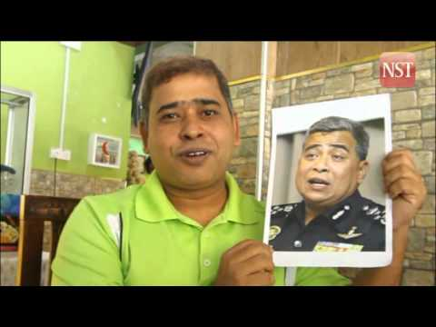 Meet the Bangladeshi restaurant worker who resembles Malaysia's IGP