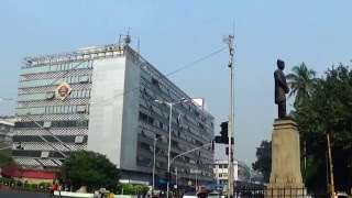 Exterior Of Magnificent Churchgate Station Area, Mumbai | Indian Railways Station