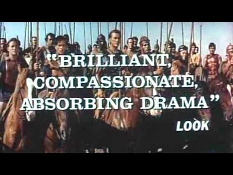 Spartacus 1960 re-issue film trailer