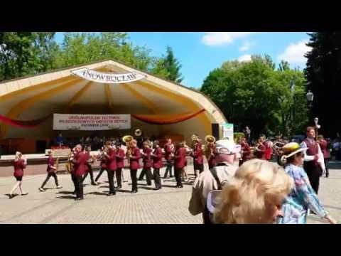 Musztra Paradna 2016 Młodzieżowa Orkiestra Dęta ZSE W Bydgoszczy