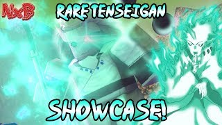 RARE TENSEIGAN FULL SHOWCASE! (THIS IS OVERPOWERED!) | Naruto RPG: Beyond w/ Implex
