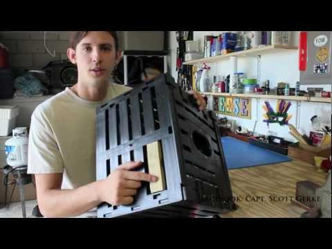 How to Put a Stone Crab Trap Together Part 1