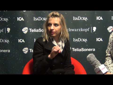 ESCKAZ live in Malm: Amandine Bourgeois (France) interview Russian/English