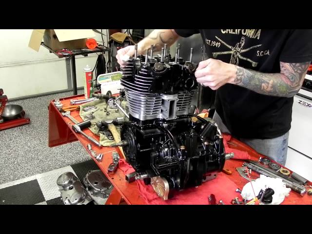 ChappellCustoms 1982 Yamaha XS650 boardtracker motorcycle build STEP #7 part 2