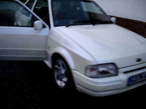 Ford Escort Rs Turbo Engine. Escort RS Turbo start