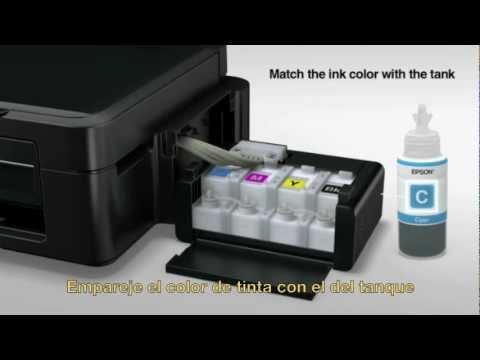 Epson - Instalación del Sistema de Tanque de Tinta